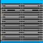 Icone logo store extérieur bleu